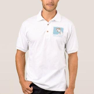 Siberian Husky Puppy Polo Shirt