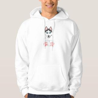 Siberian Husky Puppy Pullover