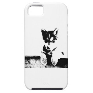 Siberian Husky Puppy/SW Tough iPhone 5 Case