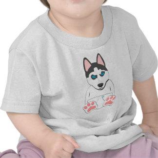 Siberian Husky Puppy T Shirt