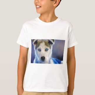 Siberian Husky Puppy Tee Shirts