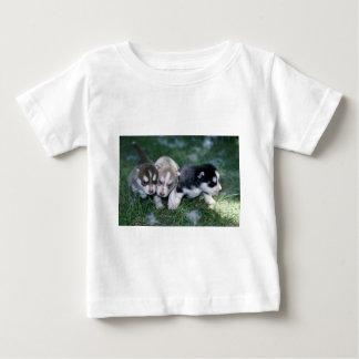 Siberian Husky pups, 3 weeks Tshirts