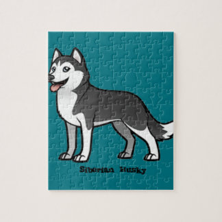 Siberian Husky Puzzle