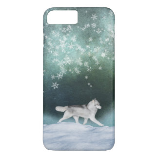 Siberian Husky Snow Case (For Various Models)