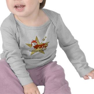 Siberian Husky Stars Shirts