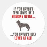 Siberian Husky Stickers