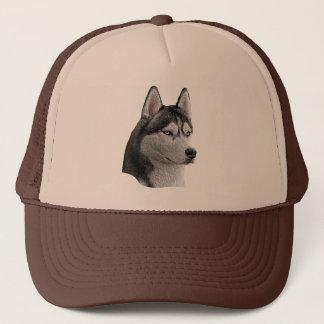 Siberian Husky - Stylized Image - Add Your Text Trucker Hat