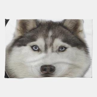 """""""Siberian Husky"""" Tea Towel"""