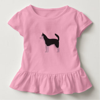 Siberian Husky Toddler T-Shirt
