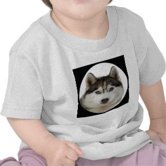 """Siberian Husky"" T Shirts"