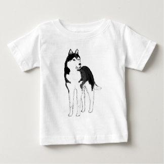 Siberian Husky. tshirts
