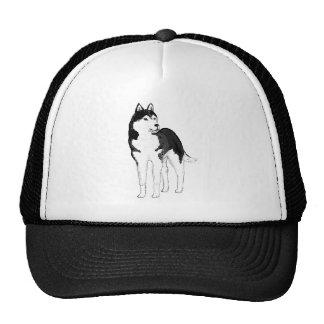 Siberian Husky. tshirts Cap
