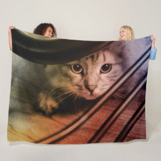 Siberian Kitty Cat Blanket