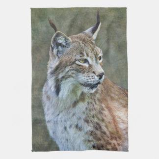 Siberian Lynx Kitchen Towel
