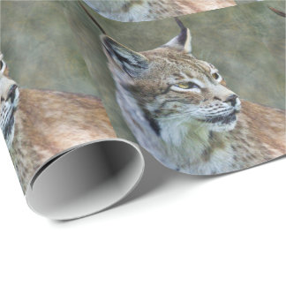 Siberian Lynx Wrapping Paper