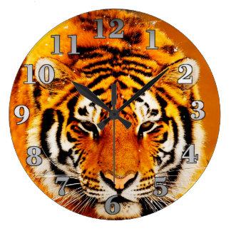 Siberian Tiger Clocks