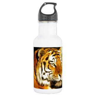 Siberian Tiger in the evening 532 Ml Water Bottle