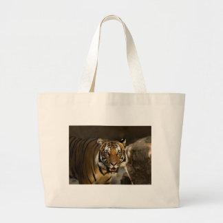 Siberian Tiger Large Tote Bag