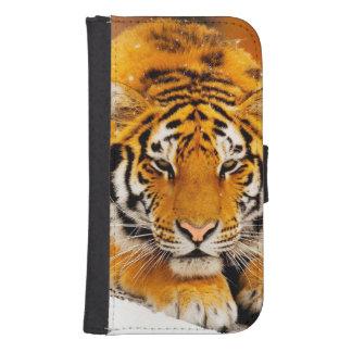 Siberian Tiger Samsung S4 Wallet Case