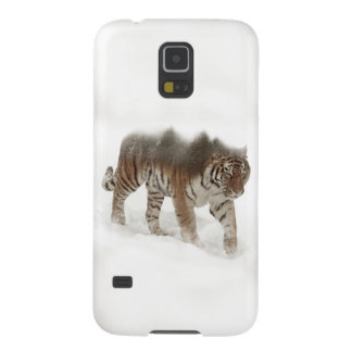 Siberian tiger-Tiger-double exposure-wildlife Galaxy S5 Covers