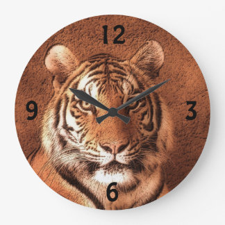 Siberian Tiger - Wall Clock