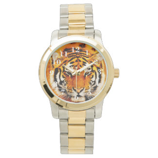 Siberian Tiger Wrist Watches