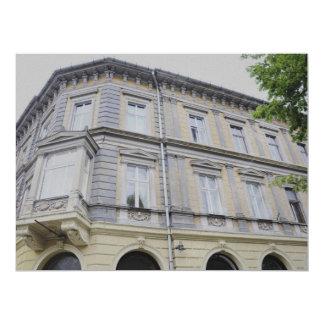 Sibiu architecture personalized invitation