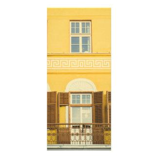 Sibiu architecture customized rack card