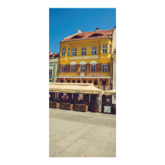 Sibiu architecture rack card