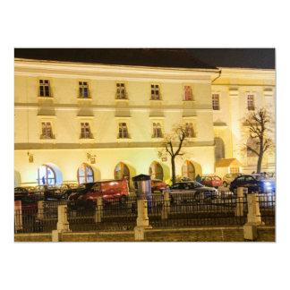 Sibiu at night announcement