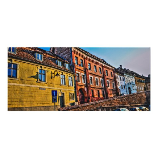 Sibiu hdr architecture rack card design