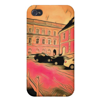 Sibiu painting cases for iPhone 4