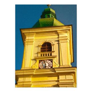 Sibiu tower 17 cm x 22 cm invitation card