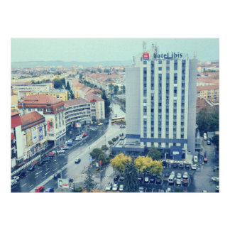 Sibiu view personalized invitation
