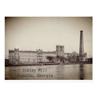 Sibley Mill Postcard in Augusta, GA