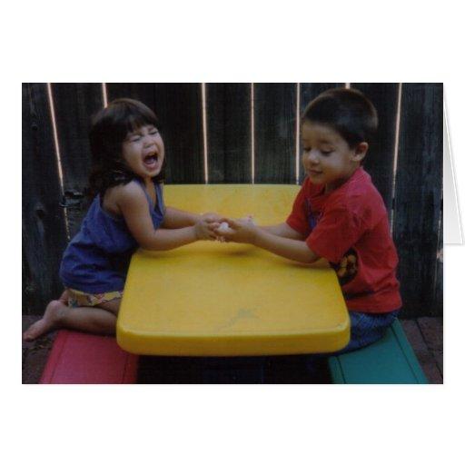 Sibling Love Greeting Cards