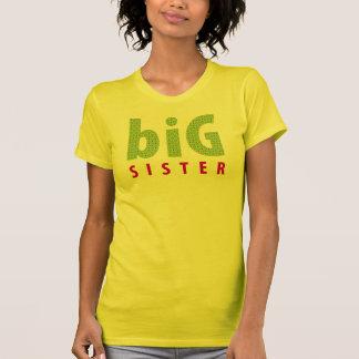 SIBLINGS COLLECTION - big sister {lime} Tshirt