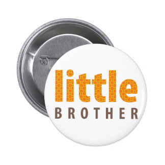 SIBLINGS COLLECTION - little brother orange Buttons