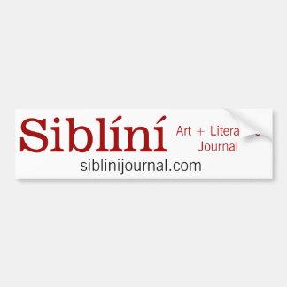 Siblíní Bumper Sticker