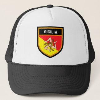 Sicilia Flag Trucker Hat