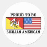 Sicilian American Sticker