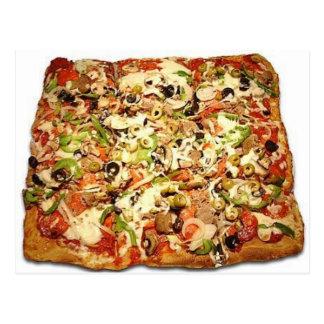 SICILIAN PIZZA PIE POSTCARD