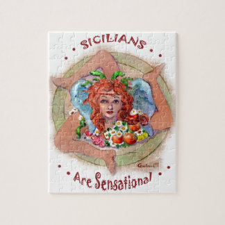 Sicilians are Sensational Jigsaw Puzzle
