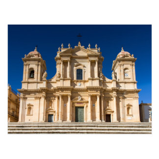 Sicily - Cathedral of Noto postcard
