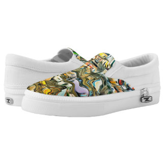 Sicily Colors Slip On Shoes