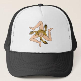Sicily Icon Trucker Hat