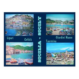 Sicily Landscapes - Postcard