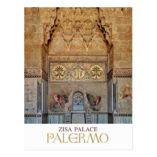 Sicily - Palermo - Zisa Palace Postcard