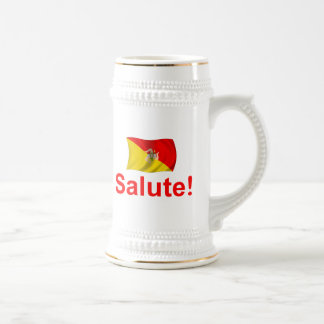Sicily Salute! Beer Stein