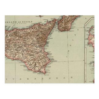 Sicily, Sardinia Postcard